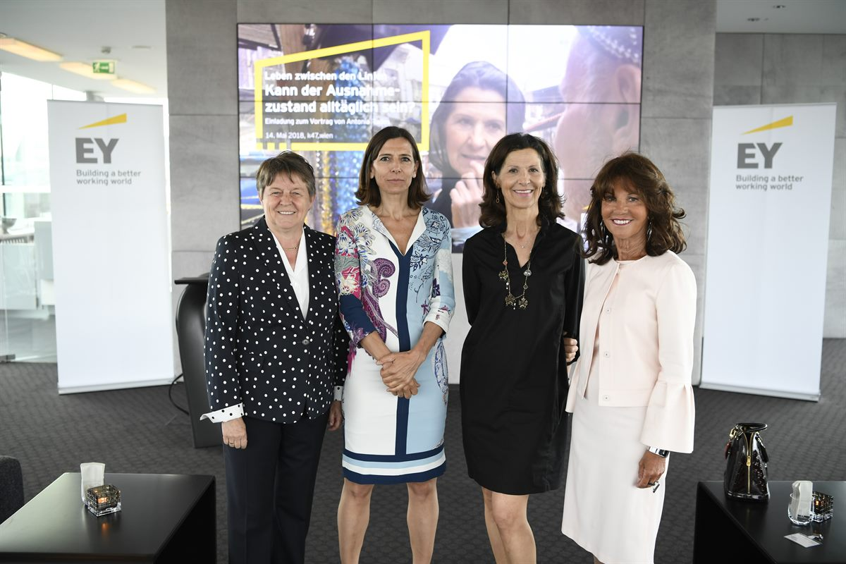 EY lud Top-Managerinnen zu Vortrag von Dr. Antonia Rados