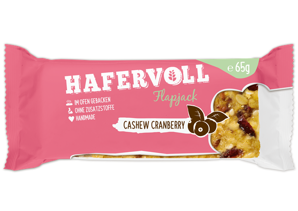 HAFERVOLL_Flapjack_ Cashew_Cranberry