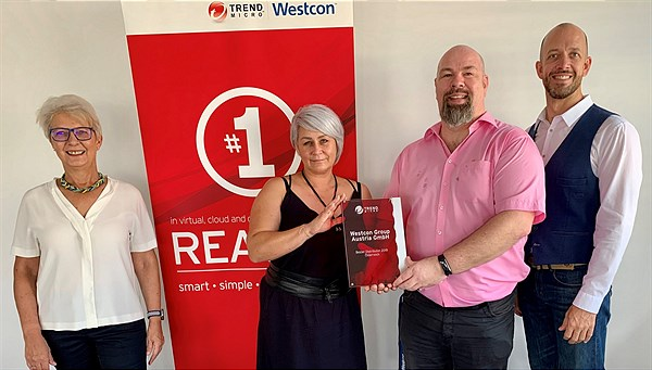 Westcon Group Austria GmbH = Bester Distributor 2019