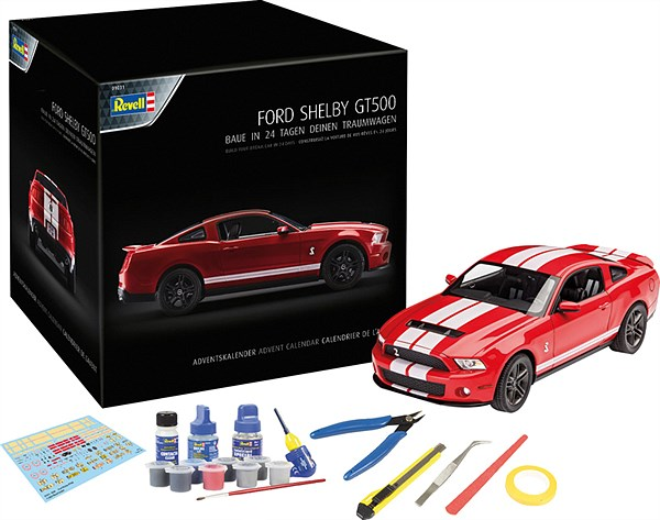 LIBRO_Revell Ford Shelby GT 500 Adventkalender_€49,99