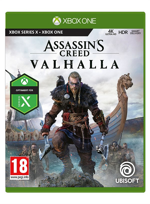 LIBRO_Assassins Creed Valhalla_XBO_€ 69,99