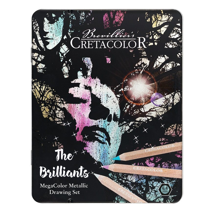 LIBRO_Cretacolor The Brilliants Metallicfarben-Set_€ 24,99
