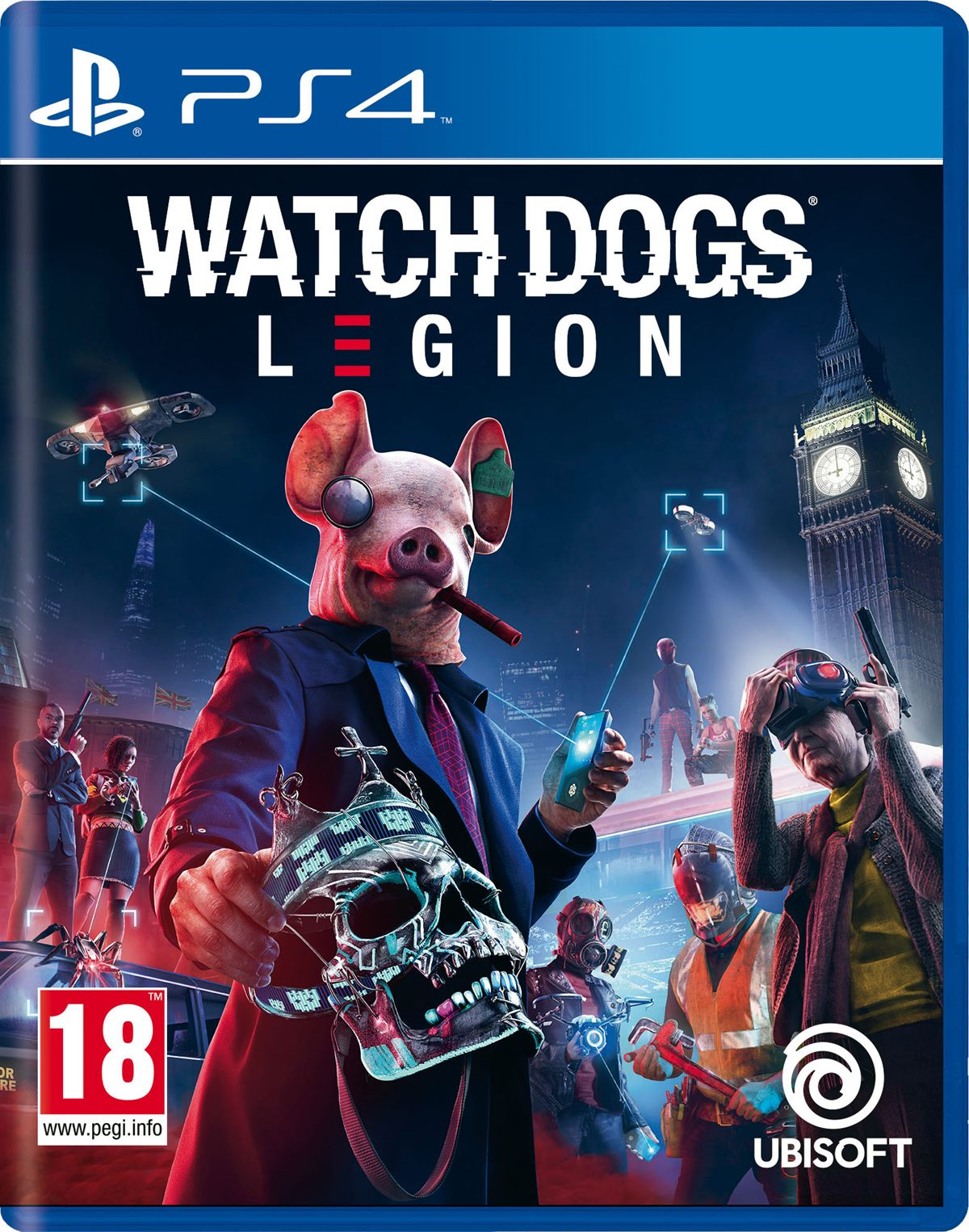LIBRO_Watch Dogs Legion_PS4_€ 40
