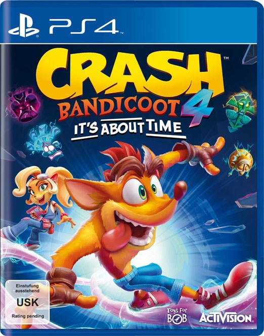LIBRO_Crash Bandicoot 4_PS4_€69,99