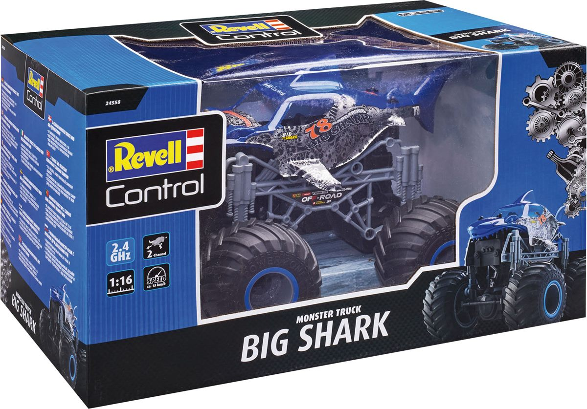 LIBRO_Revell Control Big Shark Monster Truck-SET, ab 8 Jahren_€34,99