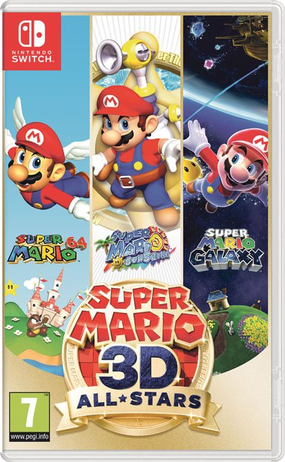 LIBRO_Super Mario 3D All Stars_Nintendo Switch_€59,99