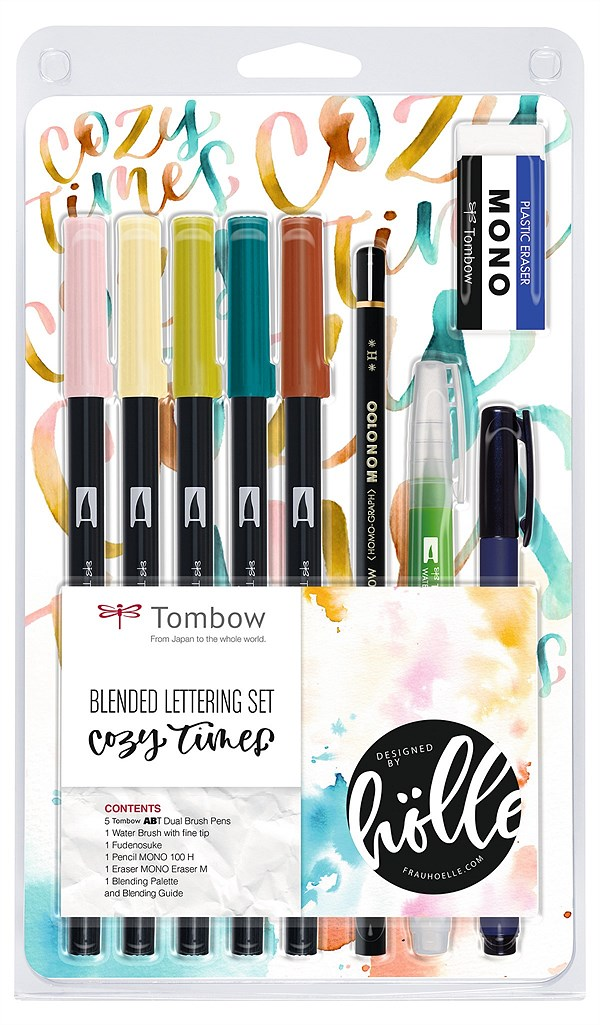 LIBRO_Tombow Blended Lettering Set, Cozy Times_€29,99