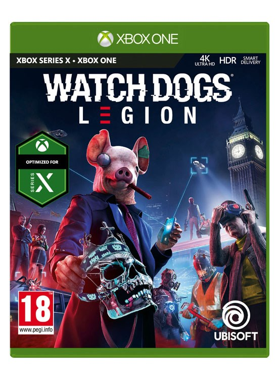 LIBRO_Watch Dogs Legion_XBO_€69,99