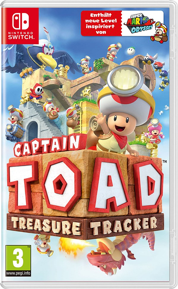 LIBRO_Captain Toad Treasure Tracker, Nintendo Switch