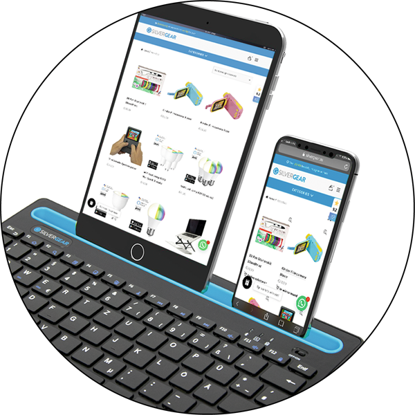 Pagro_Multi Device Keyboard Bubble