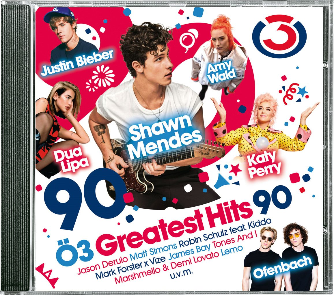 LIBRO_Ö3 Greatest Hits Vol 90_CD_€ 16,99_